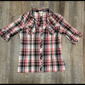 Ambiance button down shirt size medium